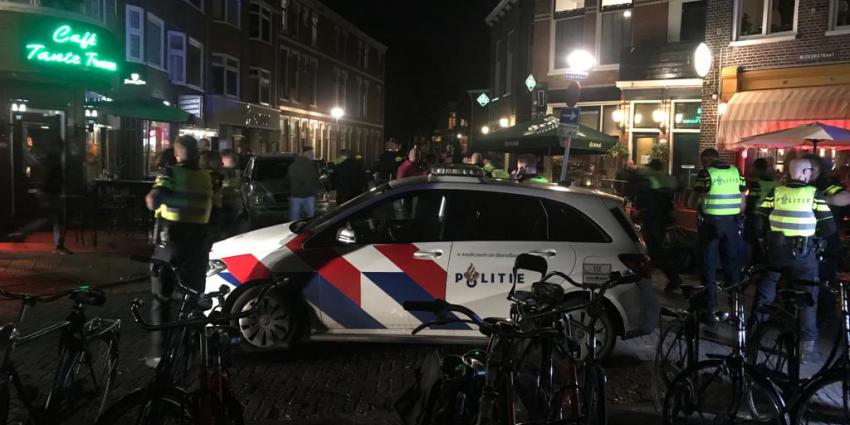 Onrustig in de binnenstad van Groningen