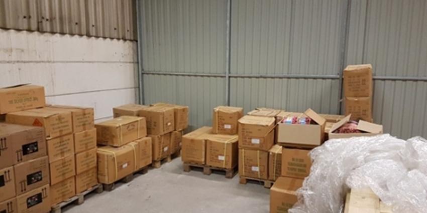 Politie onderschept 5000 kilo illegaal vuurwerk