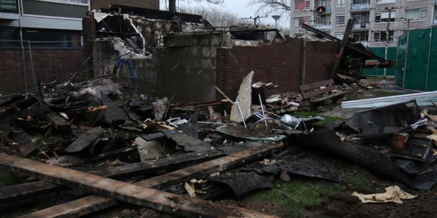 Politie zoekt zwaar gewonde man na explosie Schiedam