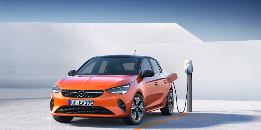 Foto van elektrische Opel Corsa
