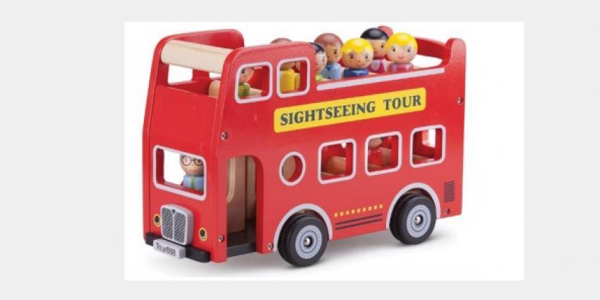 Terughaalactie speelgoed City Tour Bus