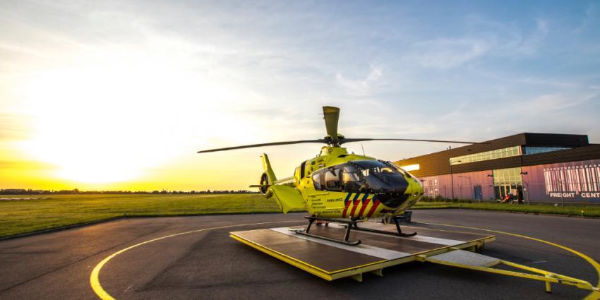 De nieuwe traumahelikopter