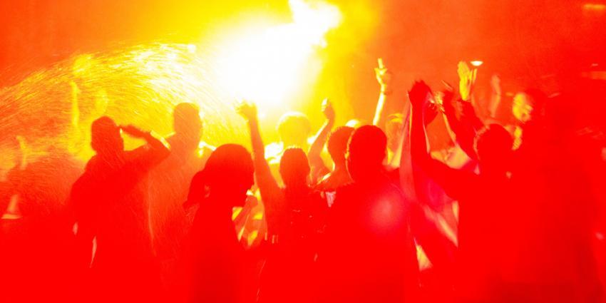 Feest na overwinning Oranje