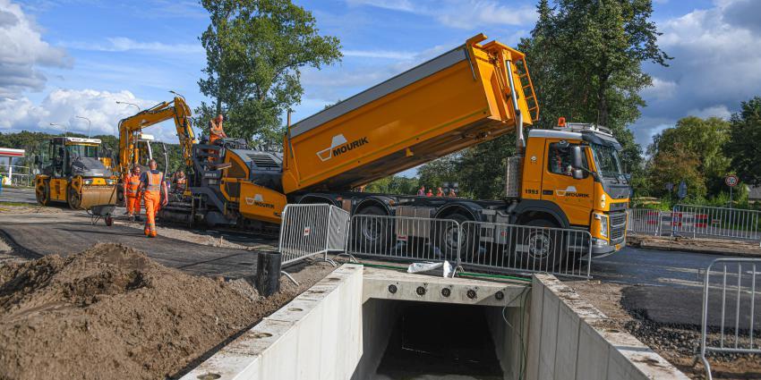 Werkzaamheden aan tunnel Utrechtseweg