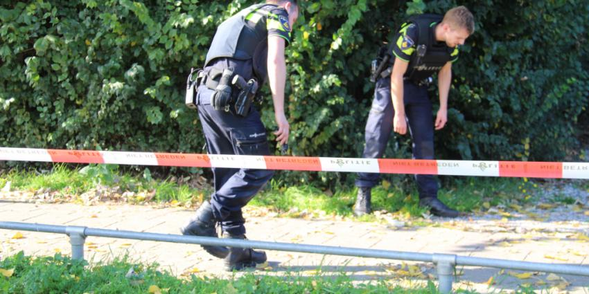 Politie houdt klopjacht op overvaller