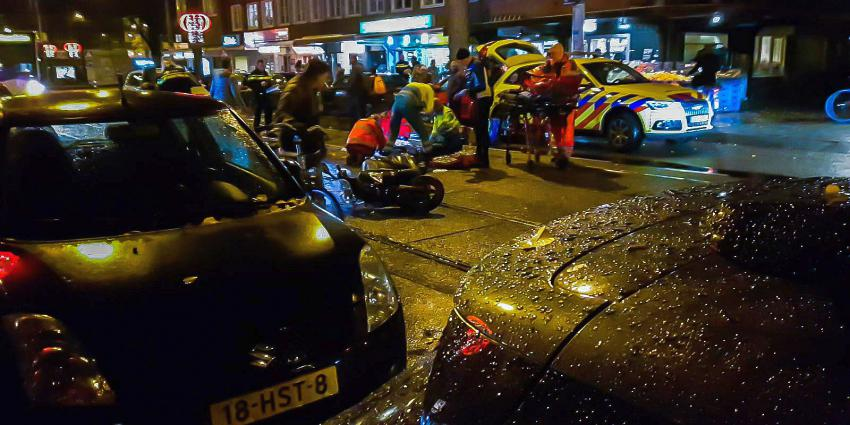 Scooterrijder omgekomen na val in Amsterdam