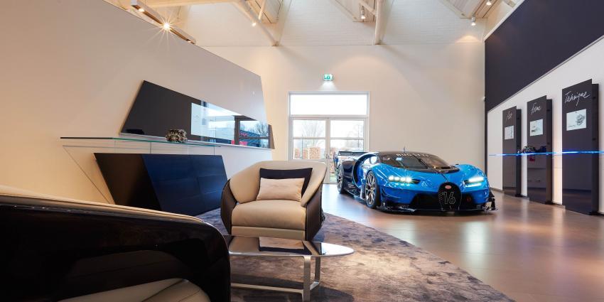 Bugatti opent nieuwe showroom in Nederland