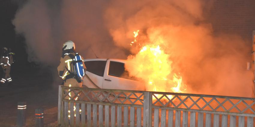 Autobrand in Hoogeveen
