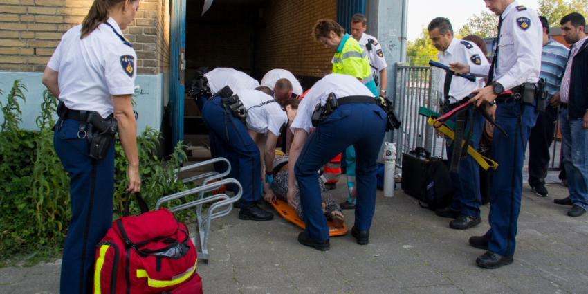 Foto van meisje gewond na val door dak | Flashphoto | www.flashphoto.nl