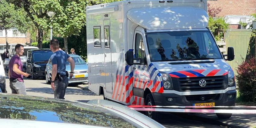 Politie doet onderzoek in Vogelkersstraat