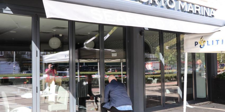 'Restaurant beschoten in Amsterdam'