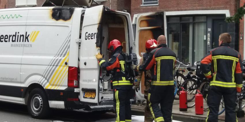 Brandweer voert nacontrole uit
