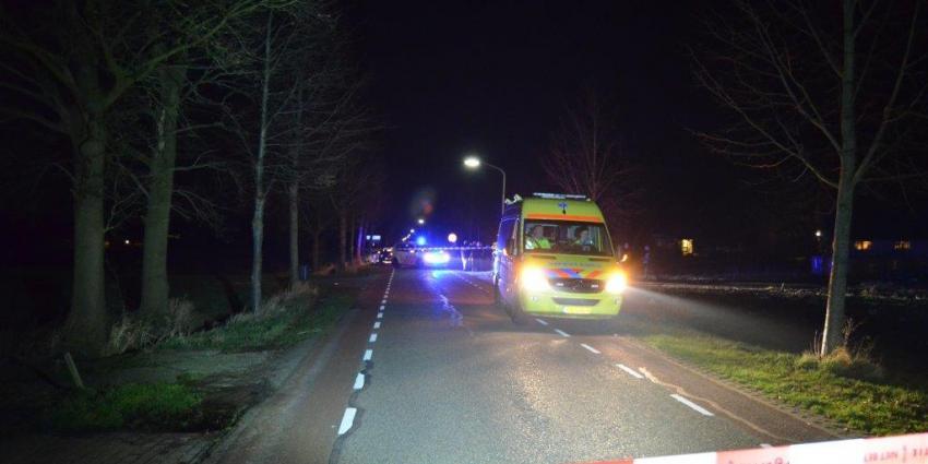 Foto van doorrijder na aanrijding Veelerveen | D-G Fotografie | www.denniegaasendam.nl