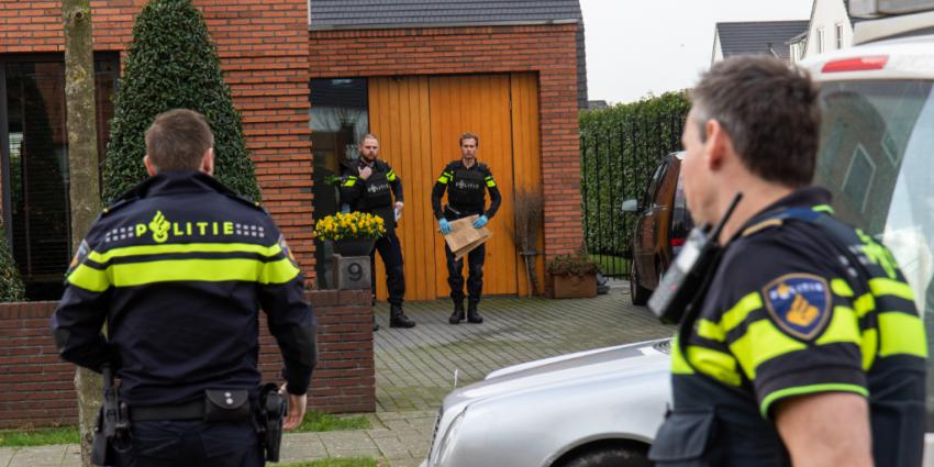 Overval op woning in Rotterdam