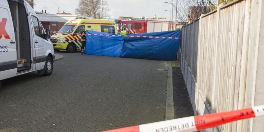 Vrouw doodgereden door vuilniswagen in Rotterdam