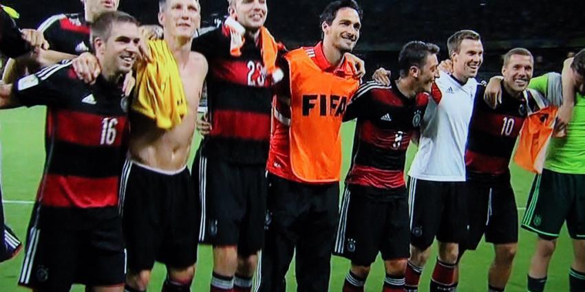 Duitsland door naar finale