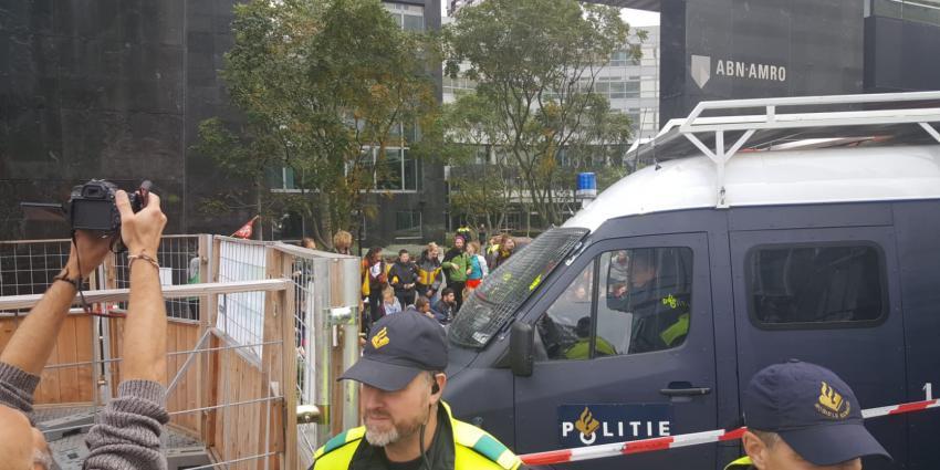 milieuactivisten voor ABN Amro Amsterdam