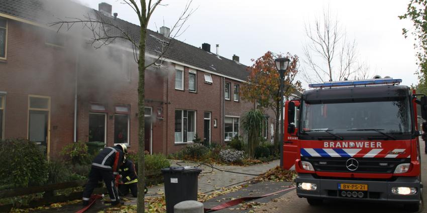 Woningbrand in Hoogeveen   Henk Brunink