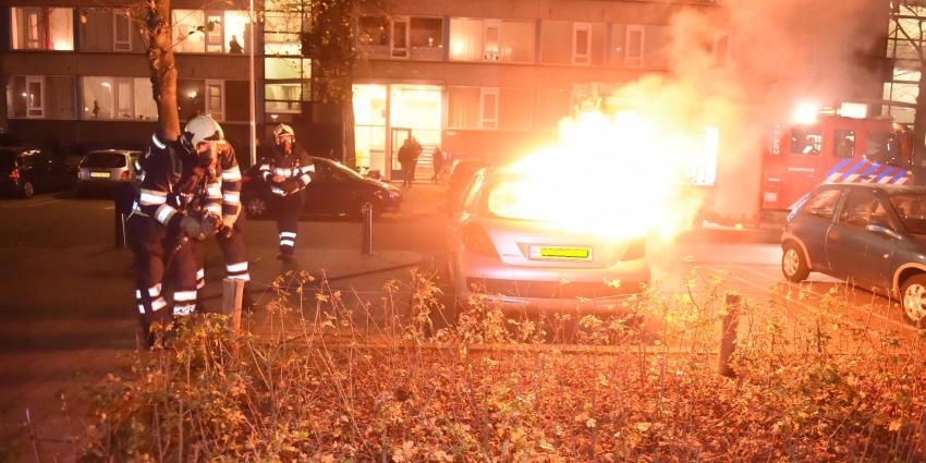Vermoedelijke brandstichting in Utrecht
