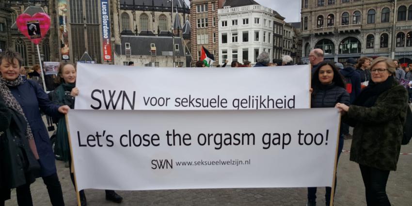 Tweede Women's March in Amstedam
