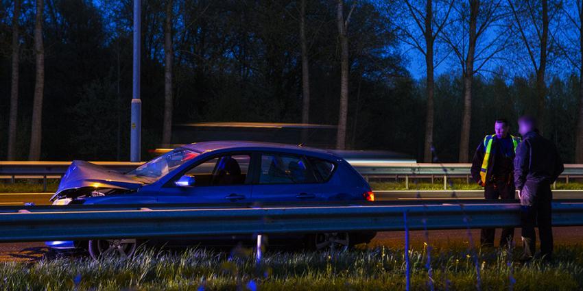 Foto van aanrijding bij Liempde | Persburo Sander van Gils | www.persburausandervangils.nl
