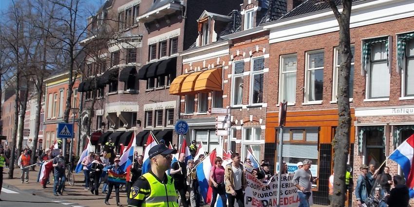 Politie handen vol aan Pediga en anti-fascistische demonstraties