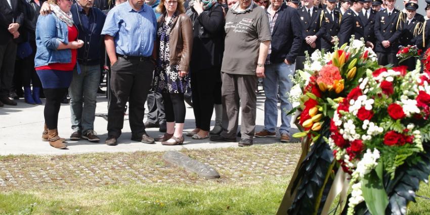 Herdenking omgekomen brandweermannen De Punt