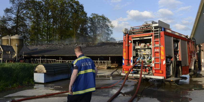Foto van brand in Woudenberg   Fotopersbureau Groenenveld