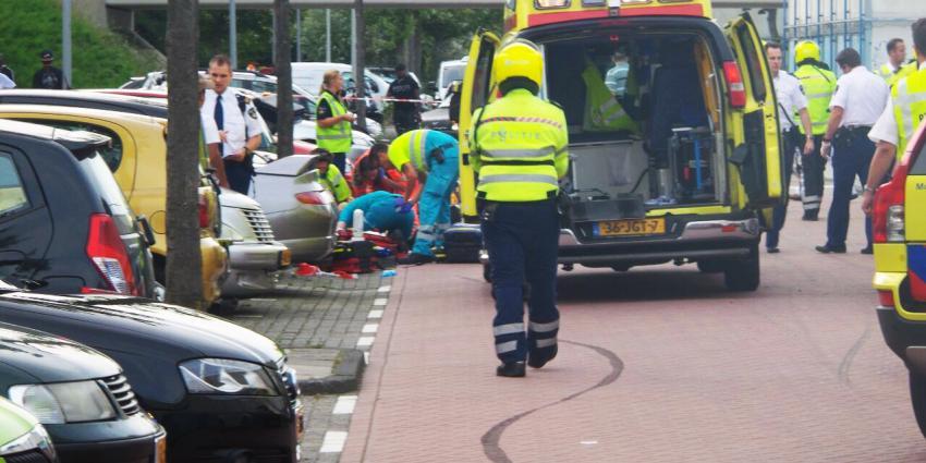 Motorrijder zwaargewond in Amsterdam