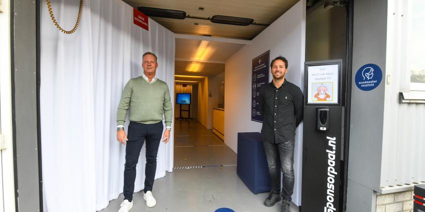 Gert-Jan Sjollema en Michael van Dongen