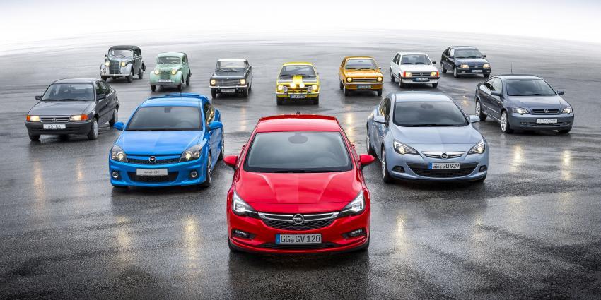 Opel Kadett viert tachtigste verjaardag