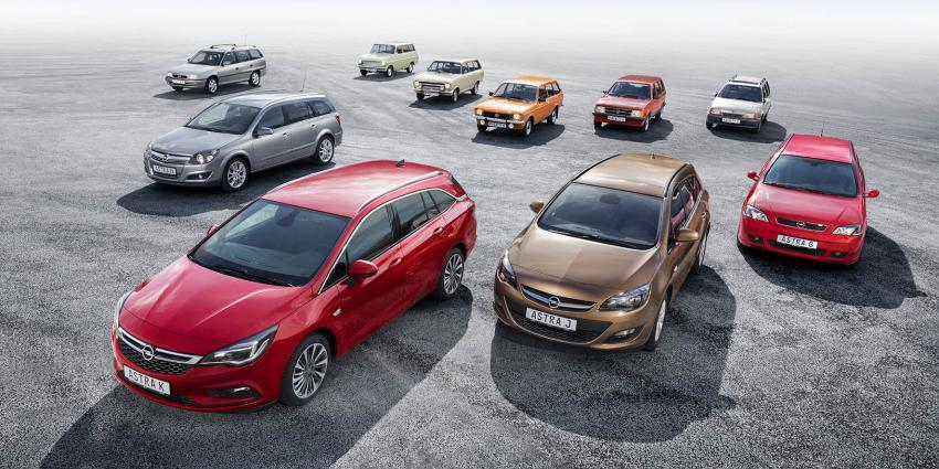 De nieuwe Opel Astra Sports Tourer: Succesvolle stationwagon met een rijke traditie