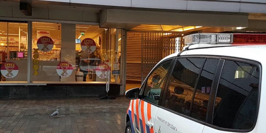 Gwapende overval op Xenos in Rotterdam