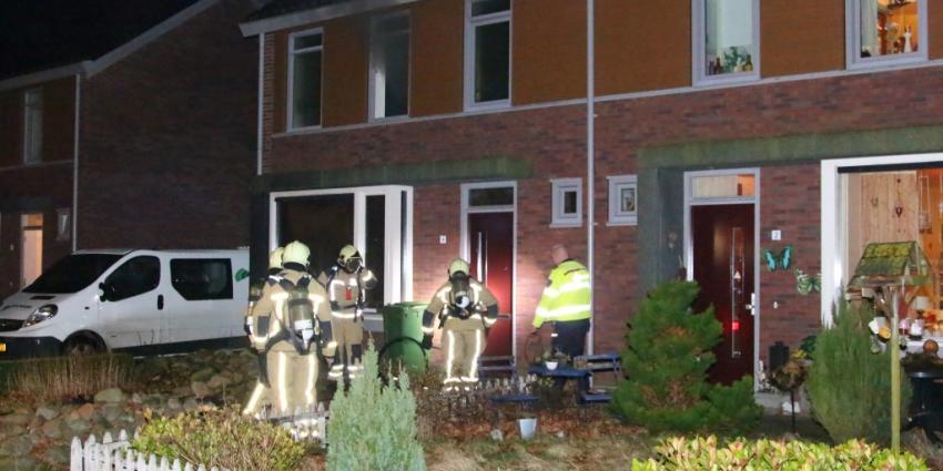 Woningbrand in Gasselternijveen