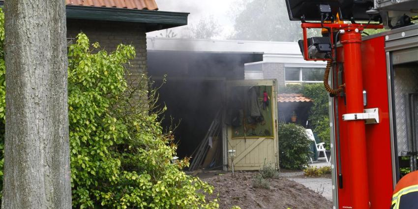 Foto van brand in Gieten | Van Oost Media | www.vanoostmedia.nl