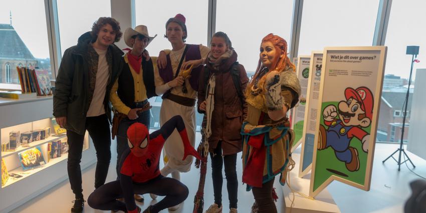 Striphelden aanwezig bij opening Storyworld