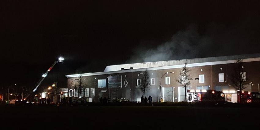 Zeer grote brand in Utrecht