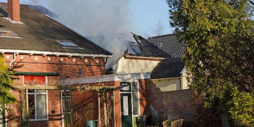Foto van brand in Wildervank | Stichting VIP | www.parkstadveendam.nl