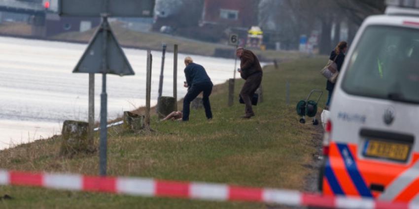 Dode in water Groningen blijkt pop