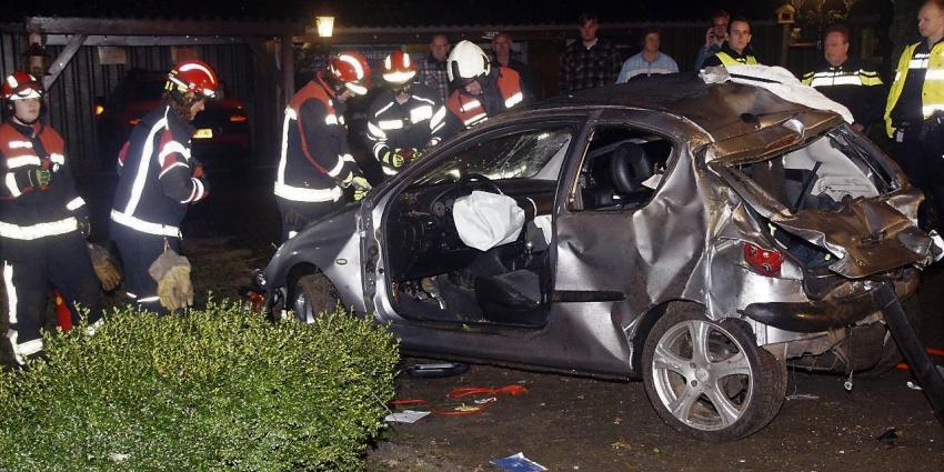 Gewonde bij ongeval Schoonebeek