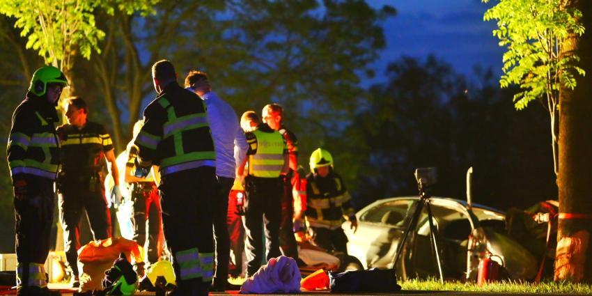 Zwaargewonden bij ongeval nabij Rossum