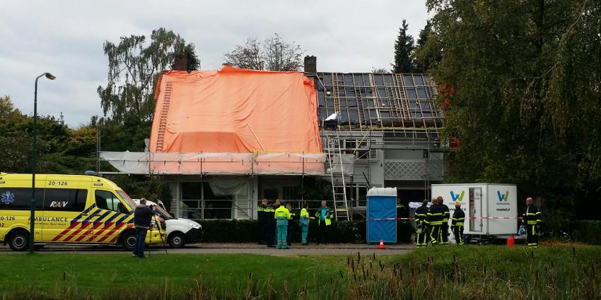 Bouwvakker gewond tijdens saneren asbest in Dongen