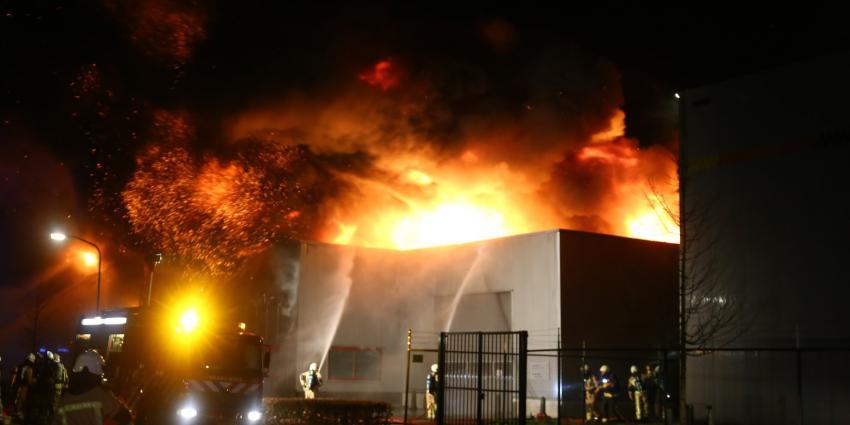 Grote brand in Tynaarlo
