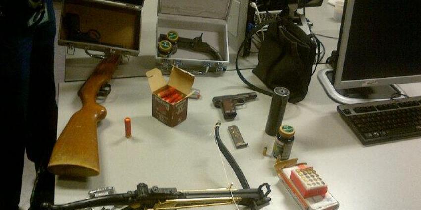 Foto van in beslag genomen wapen | Eenheid Rottedam