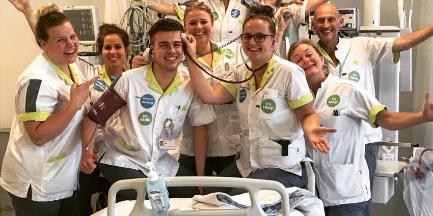 Foto van ziekenhuispersoneel