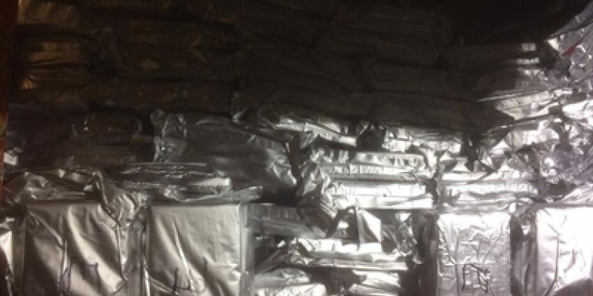 473 kilo cocaïne onderschept