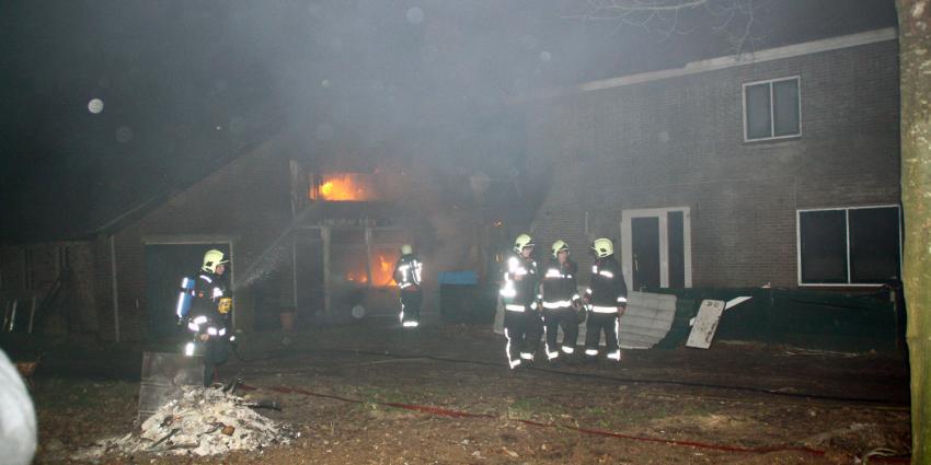 Foto van brand in Hoogeveen | Henk Brunink