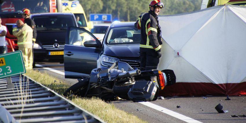 Dode door ongeval N34 bij Emmen