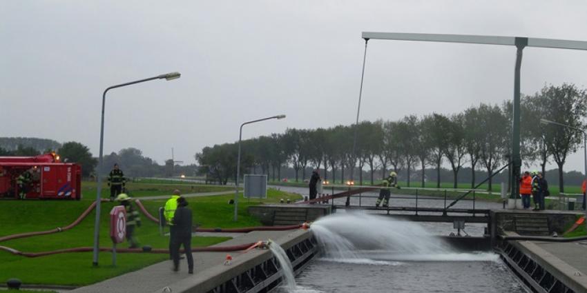 Foto van wateroverlast Nederhorst Den Berg | VDSMedia | www.vdsmedia.nl