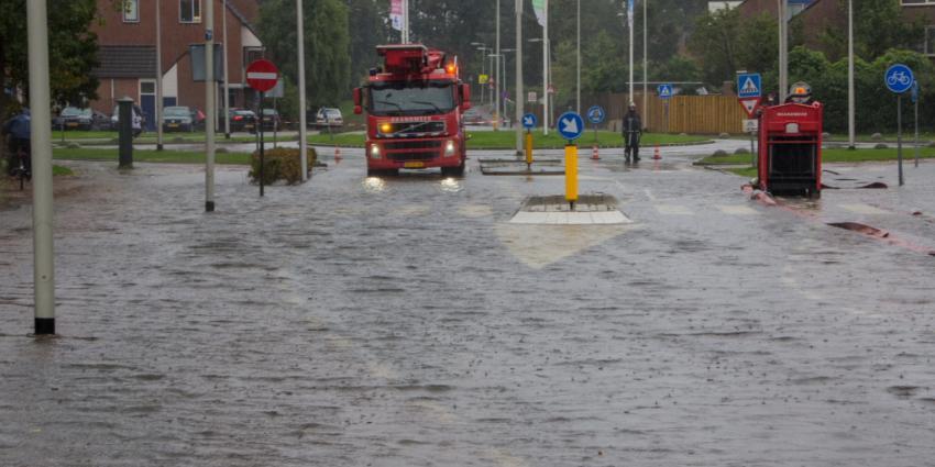 Foto van overlast door hevige regenval | Flashphoto | www.flashphoto.nl